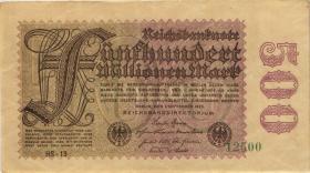 R.109c: 500 Mio. Mark 1923 HS 5-stellig (2)