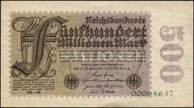 R.109g: 500 Mio. Mark 1923 (1/1-)