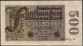 R.109h: 500 Mio. Mark 1923 (1)