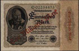 R.110a: 1 Milliarde Mark 1922 Reichsdruck  (1)