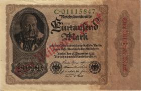 R.110a: 1 Milliarde Mark 1922 Reichsdruck (2)