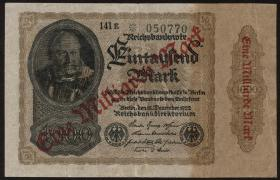 R.110e: 1 Milliarde Mark 1922 (3)