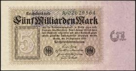 R.112a: 5 Milliarden Mark 1923 Reichsdruck (2)