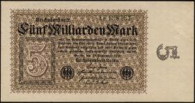 R.112c: 5 Milliarden Mark 1923 (1-)