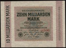 R.114c: 10 Milliarden Mark 1923 (1/1-)