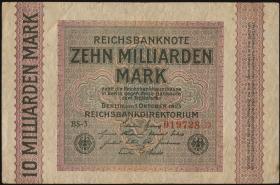 R.114e: 10 Milliarden Mark 1923 (3+)