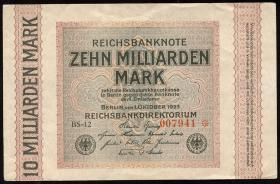 R.114e: 10 Milliarden Mark 1923 (3+)