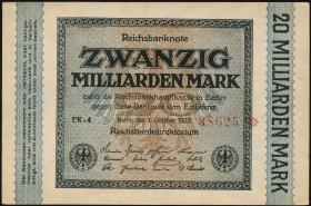 R.115a: 20 Milliarden Mark 1923  5-stellig (1/1-)