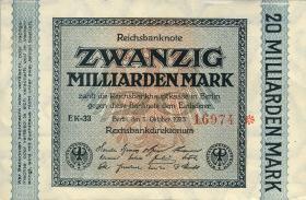 R.115a: 20 Milliarden Mark 1923 5-stellig (1)