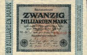 R.115Fd 20 Mrd. Mark 1923 Fehldruck (1/1-)