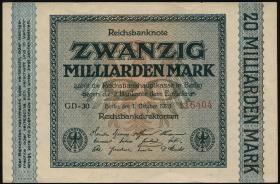R.115g: 20 Milliarden Mark 1923 (1/1-)
