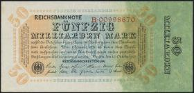 R.116a: 50 Mrd. Mark 1923 Reichsdruck (2)