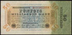R.116a: 50 Mrd. Mark 1923 Reichsdruck (3)