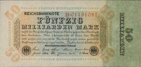 R.116a: 50 Mrd. Mark 1923 Reichsdruck (1)