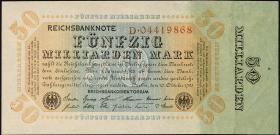R.116a: 50 Mrd. Mark 1923 Reichsdruck (1/1-)