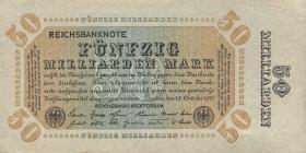R.116i: 50 Milliarden Mark 1923 Franzosenschein (1/1-)