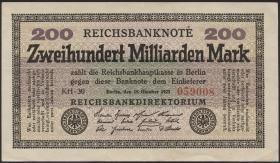 R.118f: 200 Milliarden Mark 1923 (1/1-)