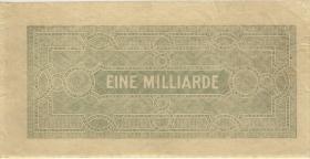 R.119: 1 Milliarde Mark 1923 (2) nur Unterdruck