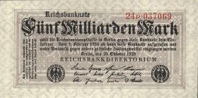 R.120b: 5 Milliarden Mark 1923 P (1)