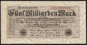 R.120b: 5 Milliarden Mark 1923 Serie H (3)