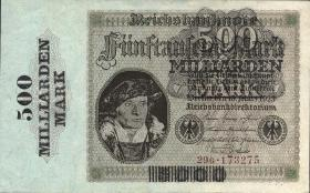 R.121b: 500 Milliarden Mark 1923 Firmendruck (1/1-)