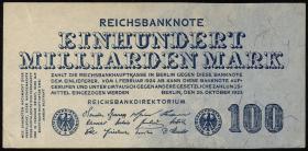 R.123: 100 Milliarden Mark 1923 (1-)