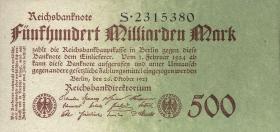 R.124a: 500 Milliarden Mark 1923 Reichsdruck (1)