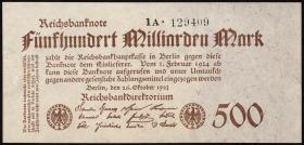 R.124d: 500 Mrd. Mark 1923 (2)