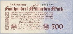 R.124e: 500 Mrd. Mark 1923 (2)
