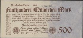 R.124f: 500 Mrd. Mark 1923 (1/1-)