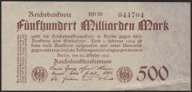 R.124f: 500 Mrd. Mark 1923 (2)