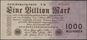 R.126c: 1 Billion Mark 1923 (2)