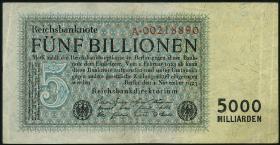 R.127a 5 Billionen Mark 1923 Reichsdruck (3)