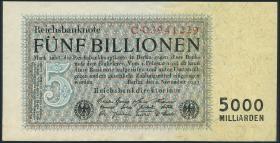 R.127a 5 Billionen Mark 1923 (1/1-)