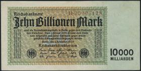 R.128a: 10 Billionen Mark 1923 (3+)
