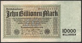 R.128a 10 Billionen Mark 1923 Reichsdruck (2)