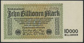 R.128e: 10 Billionen Mark 1923 (3+)