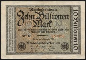 R.129a: 10 Billionen Mark 1923 (3)