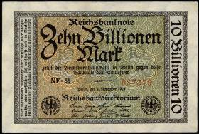 R.129b 10 Billionen Mark 1923 (2)