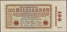 R.130a: 100 Milliarden Mark 1923 (1-)