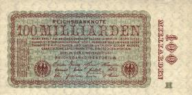 R.130b 100 Milliarden Mark 1923 H (1/1-)