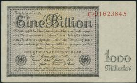 R.131a: 1 Billion Mark 1923 Reichsdruck (3+)