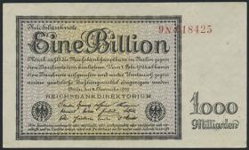 R.131b: 1 Billion Mark 1923 Firmendruck (3)