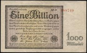 R.131d: 1 Billion Mark 1923 Firmendruck (3)