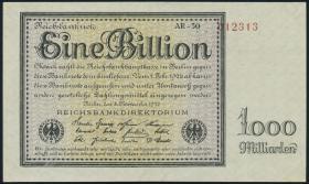 R.131d: 1 Billion Mark 1923 Firmendruck(1/1-)