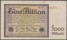 R.131dM: 1 Billion Mark 1923 MUSTER (1-)