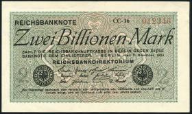 R.132P: 2 Billionen Mark 1923 Probedruck (1)