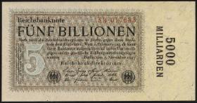 R.133b: 5 Billionen Mark 1923 (1)