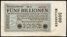 R.133f: 5 Billionen Mark 1923 (4)