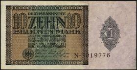 R.134: 10 Billionen Mark 1924 (2-)